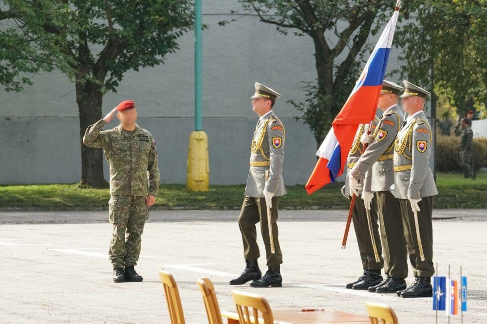 FOTO: Slávnostný akt prepodriadenia útvarov do pôsobnosti veliteľstva Síl pre špeciálne operácie, foto 34