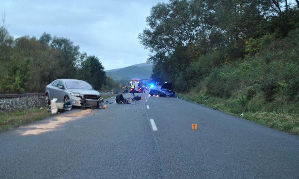 FOTO: Na Orave došlo dnes ráno k ďalšej nehode, polícia vyzýva k opatrnosti, foto 2