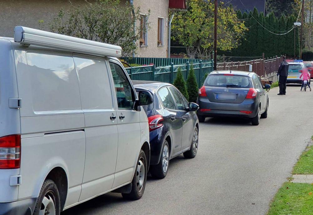 Policajná razia na ulici Vysokoškolákov a v mestskej časti Rosinky - 30.10.2019, foto 7