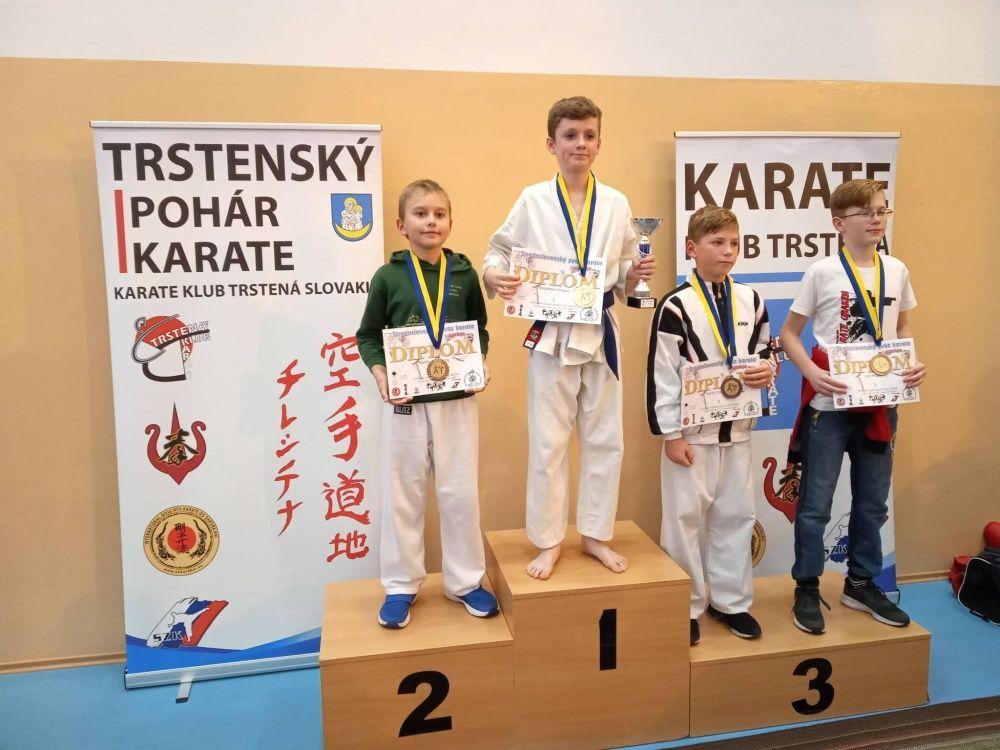 Úspechy AC UNIZA Karate klub Žilina počas októbra, foto 3