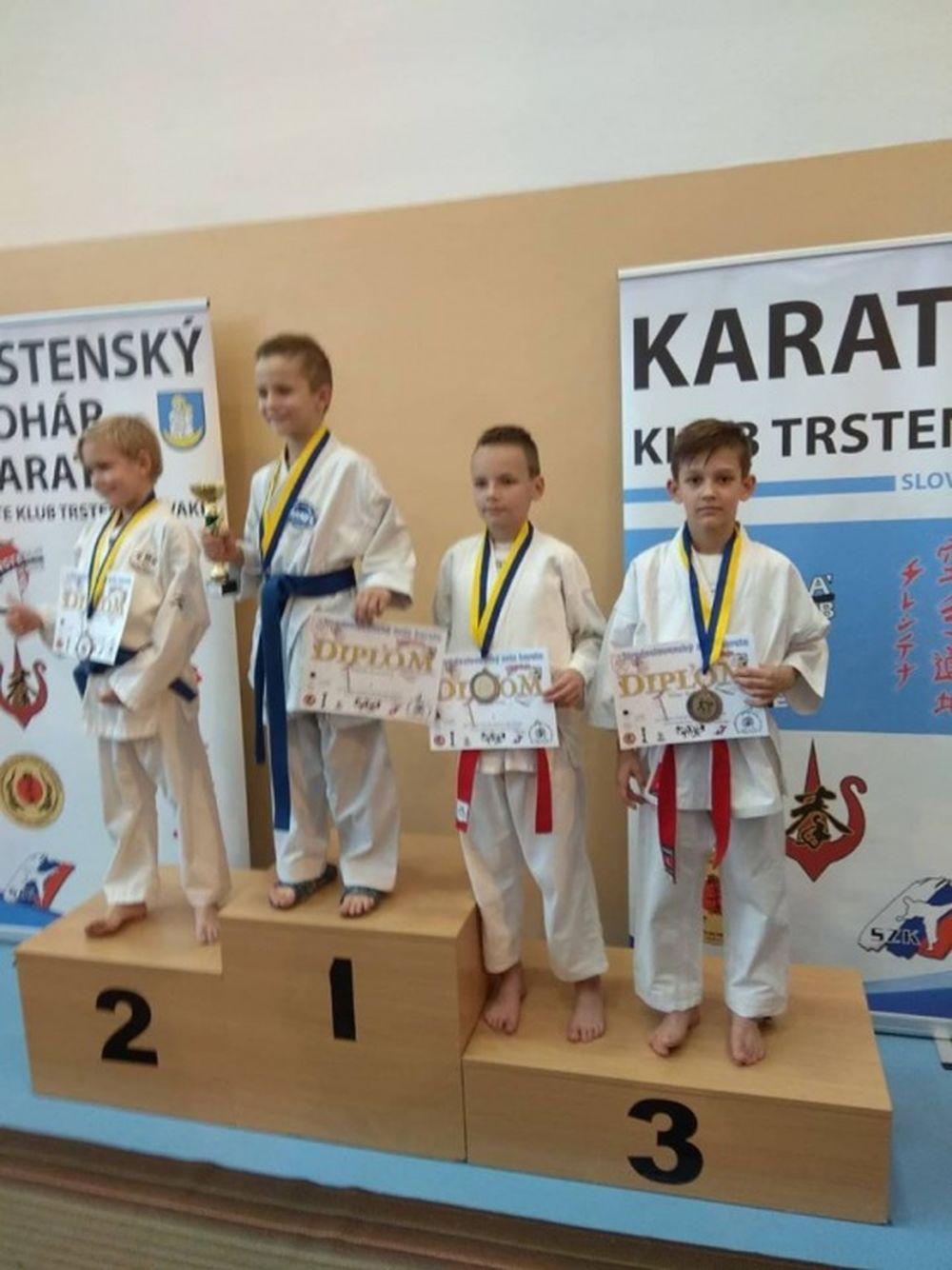 Úspechy AC UNIZA Karate klub Žilina počas októbra, foto 4