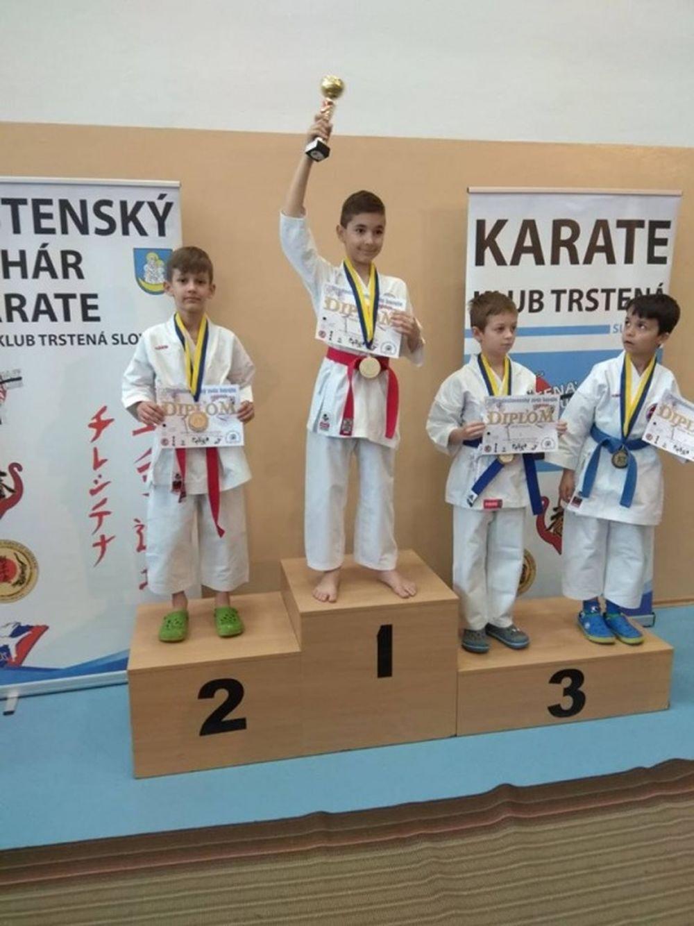 Úspechy AC UNIZA Karate klub Žilina počas októbra, foto 12