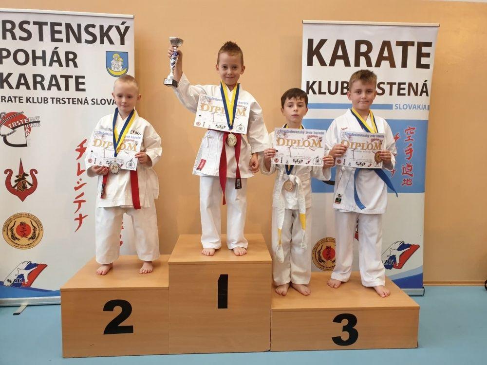 Úspechy AC UNIZA Karate klub Žilina počas októbra, foto 9