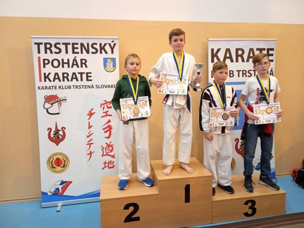 Úspechy AC UNIZA Karate klub Žilina počas októbra, foto 24