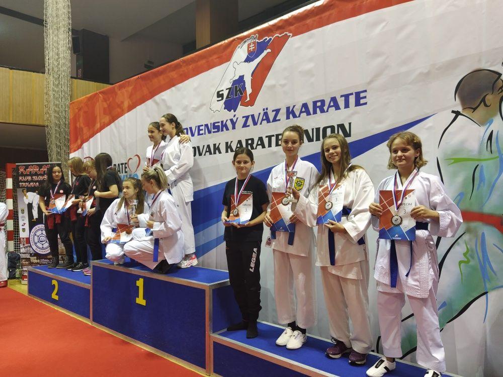 Žilinčania na majstrovstvách SR v karate, foto 3