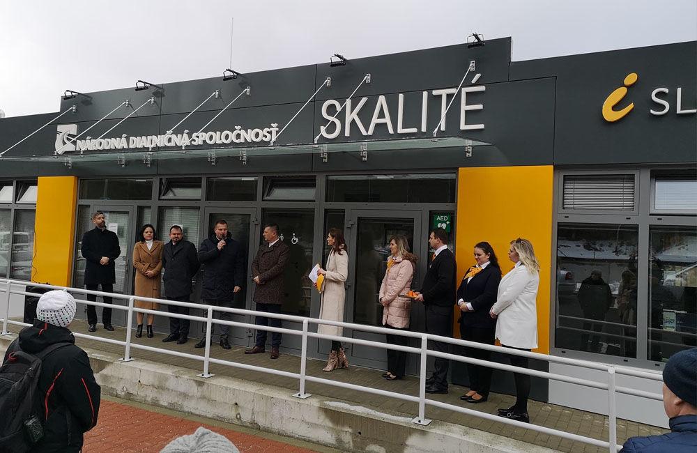 Nové informačno-predajné miesto Národnej diaľničnej spoločnosti v obci Skalité, foto 2
