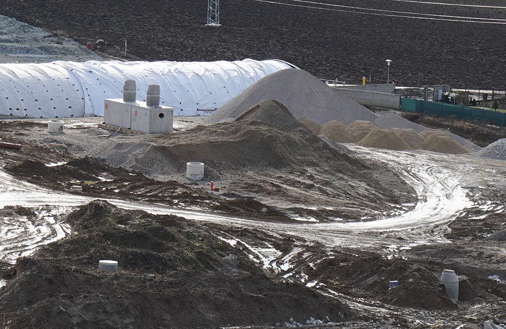FOTO: Aktuálny stav prác na stavbe diaľničného privádzača 02.03.2020, foto 4
