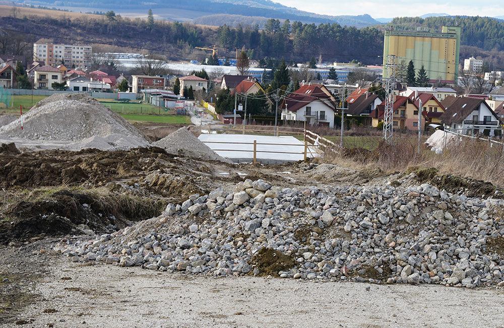 FOTO: Aktuálny stav prác na stavbe diaľničného privádzača 02.03.2020, foto 5