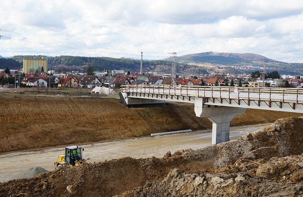FOTO: Aktuálny stav prác na stavbe diaľničného privádzača 02.03.2020, foto 8