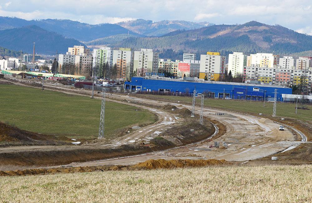 FOTO: Aktuálny stav prác na stavbe diaľničného privádzača 02.03.2020, foto 10