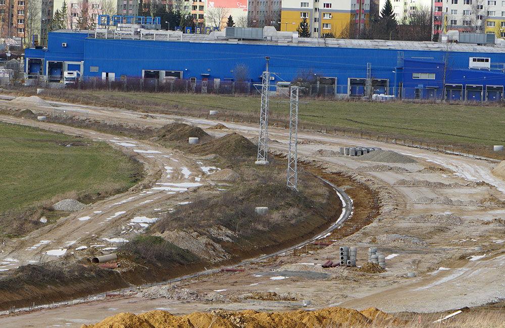 FOTO: Aktuálny stav prác na stavbe diaľničného privádzača 02.03.2020, foto 11