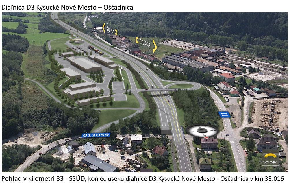 Vizualizácie diaľničného úseku D3 - Kysucké Nové Mesto - Oščadnica, foto 10