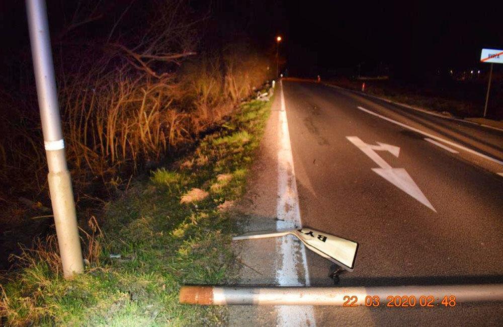 Tragická dopravná nehoda pri Bytči 22.3.2020, foto 2