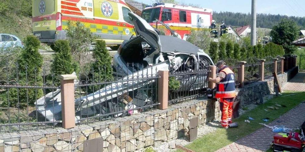 Dopravná nehoda v obci Radôstka 18.5.2020, foto 3