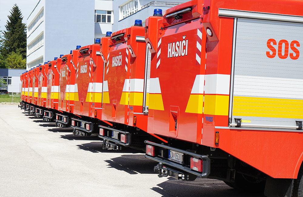 Odovzdanie nových vozidiel pre dobrovoľné hasičské zbory v Žilinskom kraji 22.5.2020, foto 3