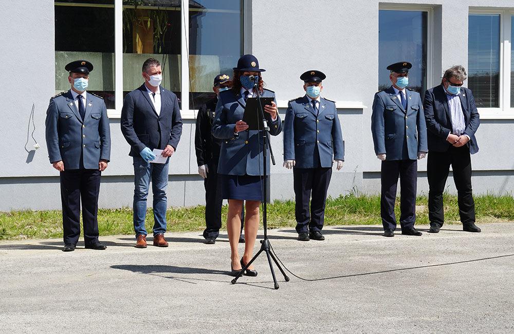 Odovzdanie nových vozidiel pre dobrovoľné hasičské zbory v Žilinskom kraji 22.5.2020, foto 5