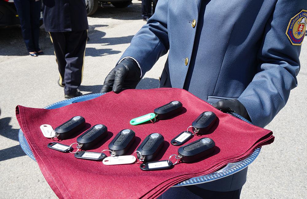 Odovzdanie nových vozidiel pre dobrovoľné hasičské zbory v Žilinskom kraji 22.5.2020, foto 8
