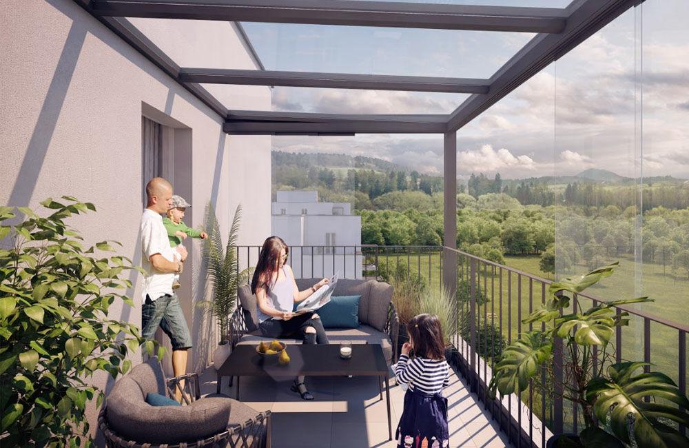 Developerský projekt Kamence v Kysuckom Novom Meste ponúkne moderné bývanie, foto 4
