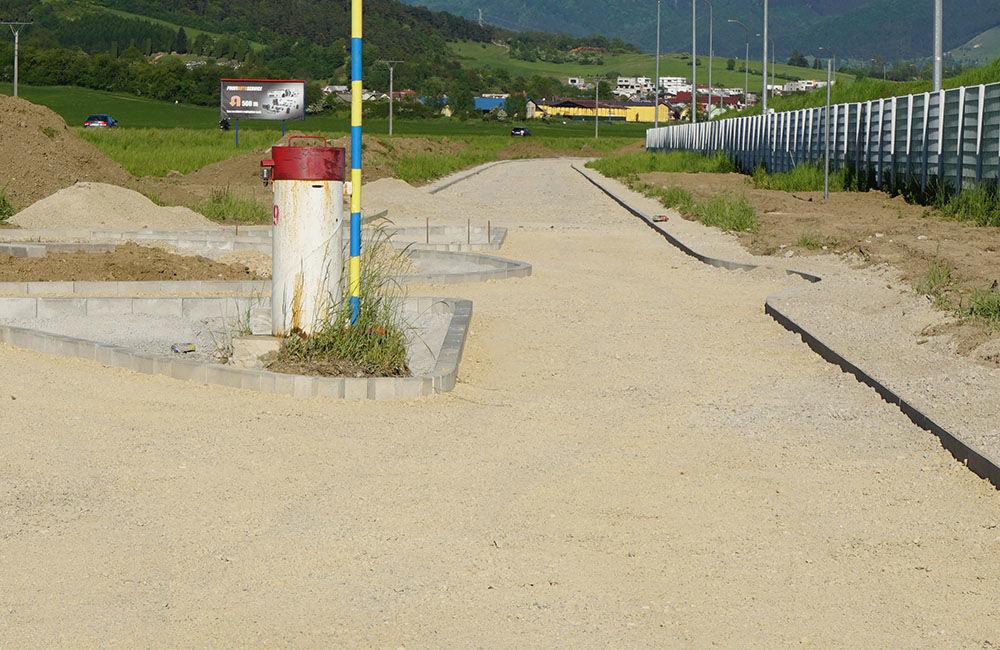 Budovanie novej cyklotrasy cez obce Teplička nad Váhom, Nededza a Varín, foto 6
