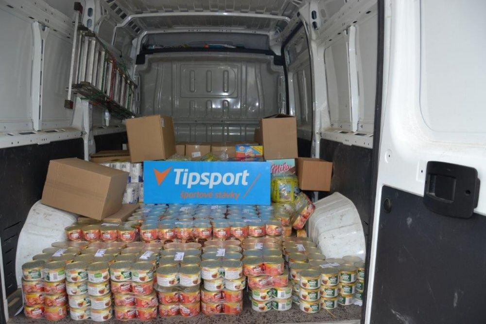 Pomoc mesta Žilina a spoločnosti Tipsport, foto 1