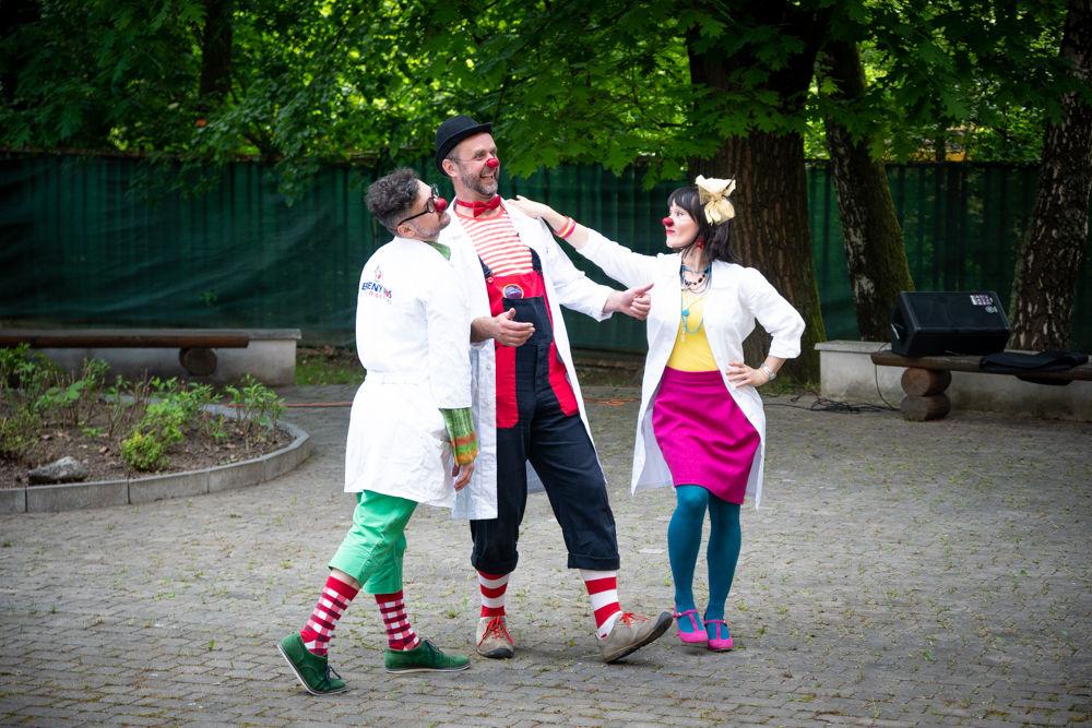 Klauniáda pre deti vo FNsP Žilina, foto 2