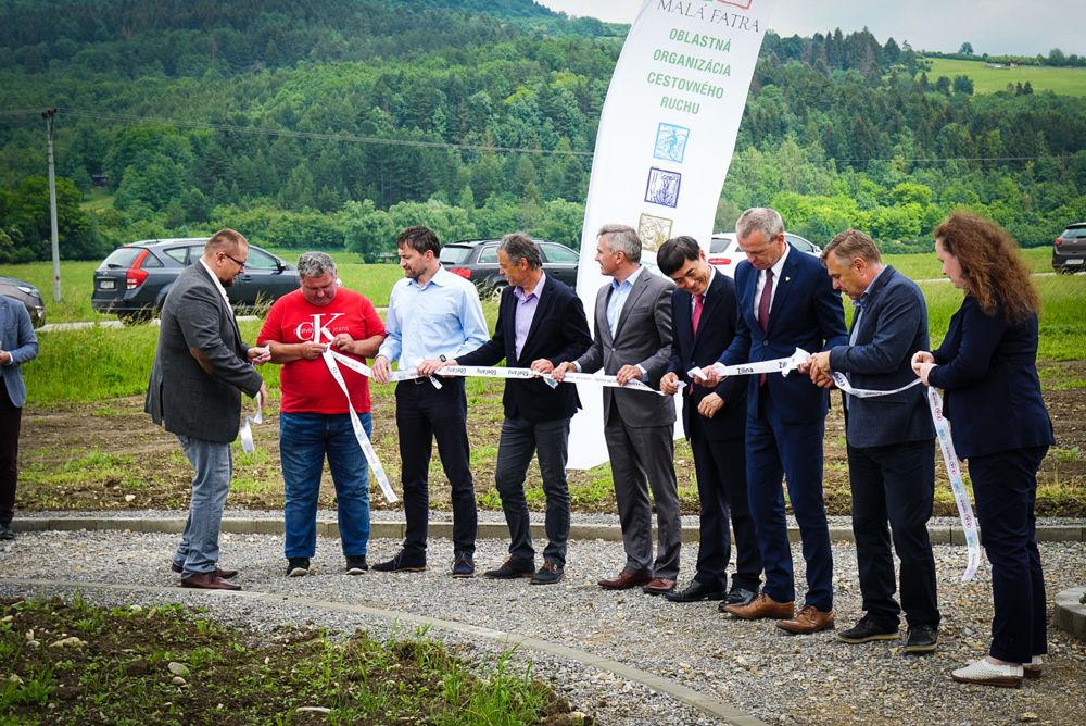 Slávnostné zahájenie výstavby: Cyklomagistrála Terchovská dolina, foto 1