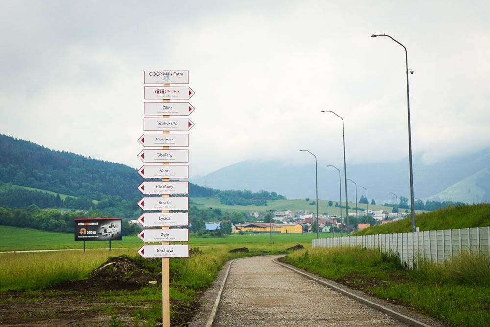 Slávnostné zahájenie výstavby: Cyklomagistrála Terchovská dolina, foto 9
