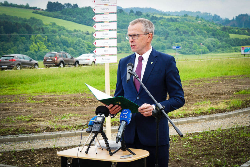 Slávnostné zahájenie výstavby: Cyklomagistrála Terchovská dolina, foto 3