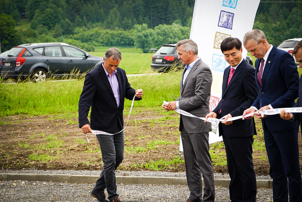 Slávnostné zahájenie výstavby: Cyklomagistrála Terchovská dolina, foto 7