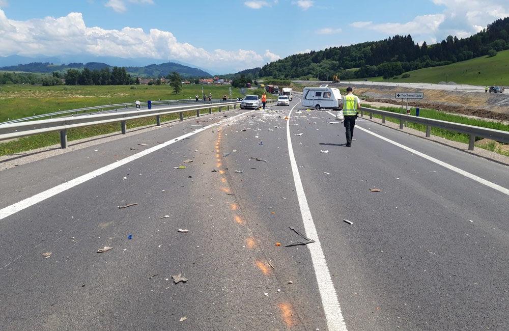 FOTO: Tragická dopravná nehoda v katastri obce Ivachnová 24.6.2020, foto 2