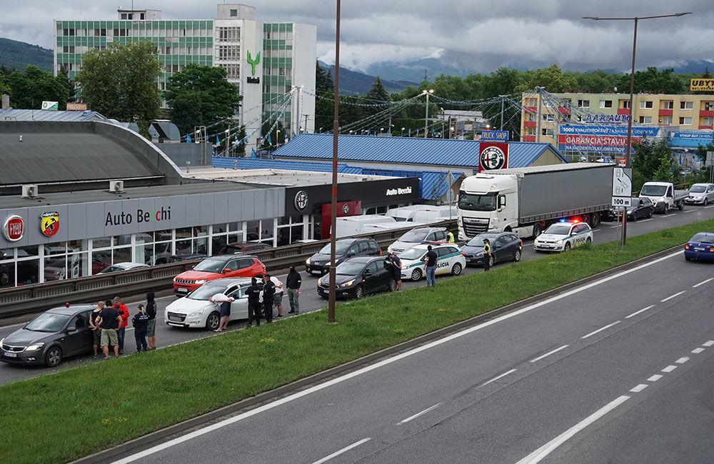 V pondelok 29. júna prebehla policajná akcia na Košickej ulici v Žiline, foto 5