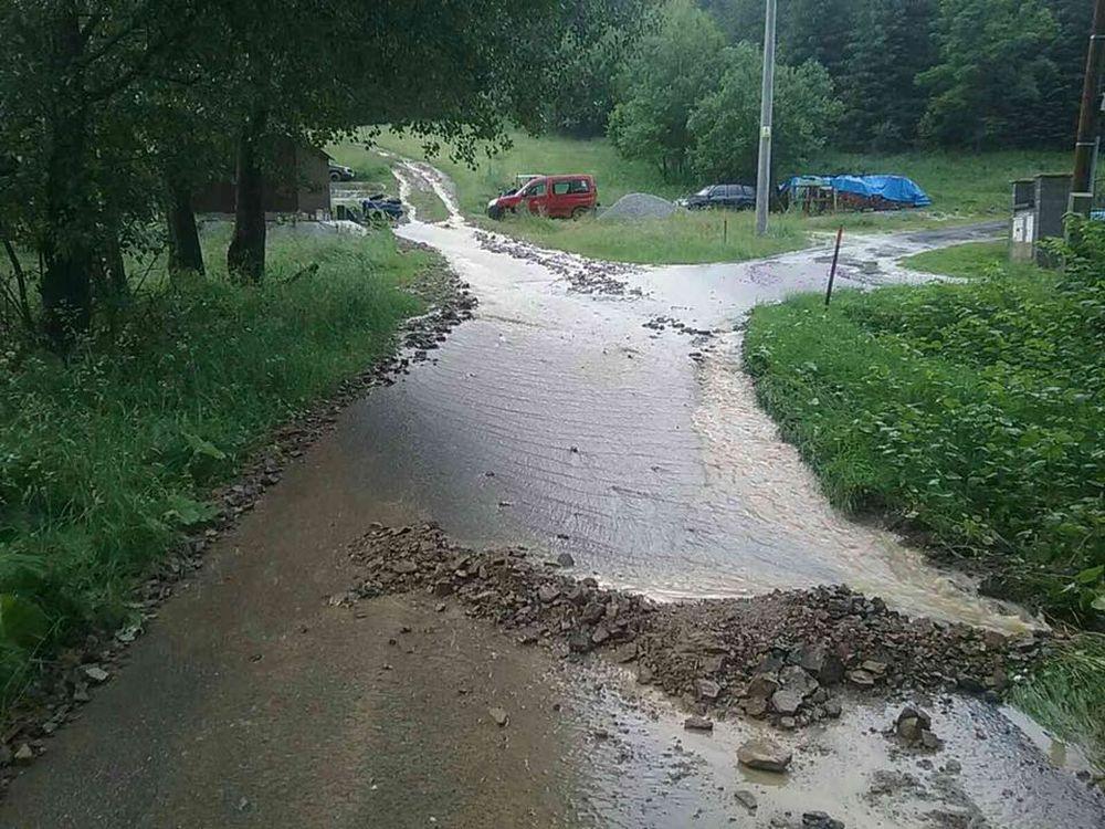 FOTO: Prívalový dážď na Kysuciach 2.7.2020, foto 2