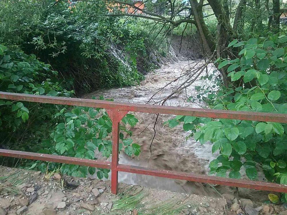 FOTO: Prívalový dážď na Kysuciach 2.7.2020, foto 3
