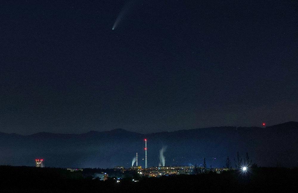 FOTO: Kométa NEOWISE zachytená na fotografiách v Žilinskom kraji, foto 7