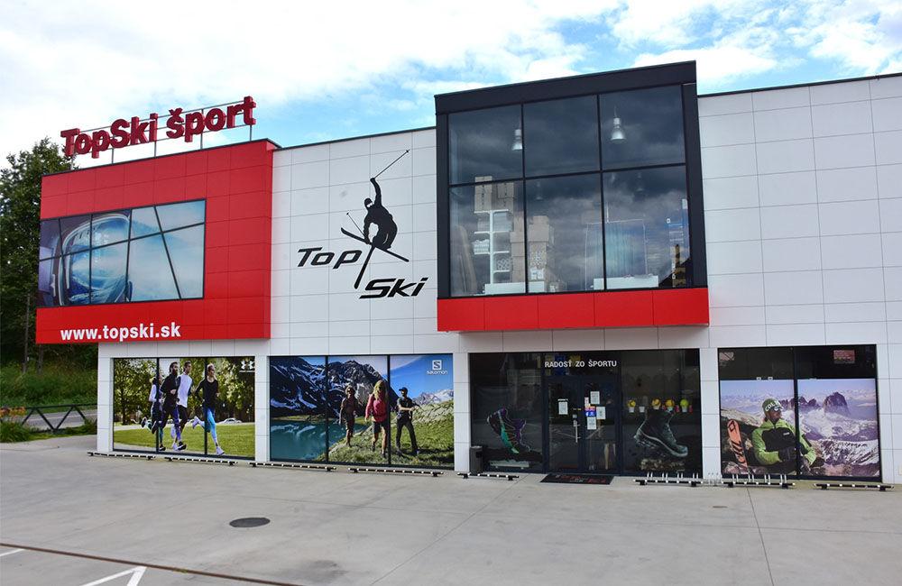 FOTO: Predajňa Topski v Žiline so širokým sortimentom športovej výbavy, foto 1