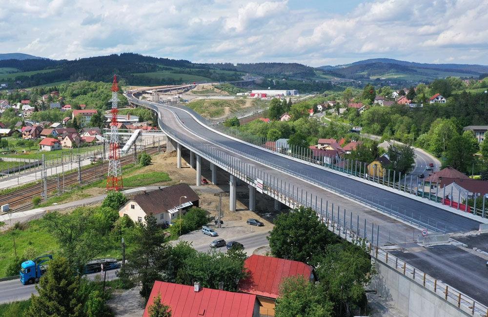 FOTO: Aktuálne zábery z výstavby diaľničného úseku D3 Čadca, Bukov - Svrčinovec, foto 6