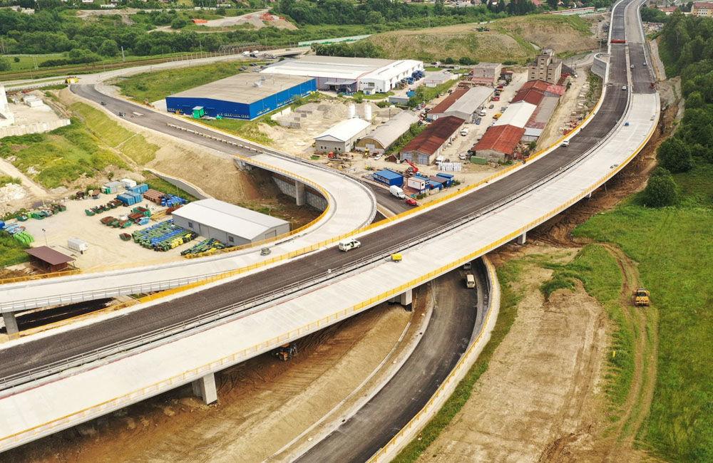 FOTO: Aktuálne zábery z výstavby diaľničného úseku D3 Čadca, Bukov - Svrčinovec, foto 9