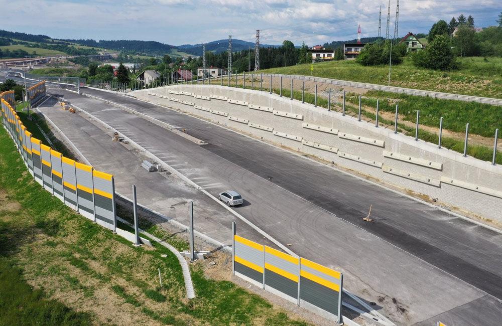 FOTO: Aktuálne zábery z výstavby diaľničného úseku D3 Čadca, Bukov - Svrčinovec, foto 10