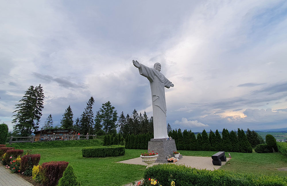 FOTO: Najvyššia socha Ježiša Krista na Slovensku stojí na Orave, foto 3