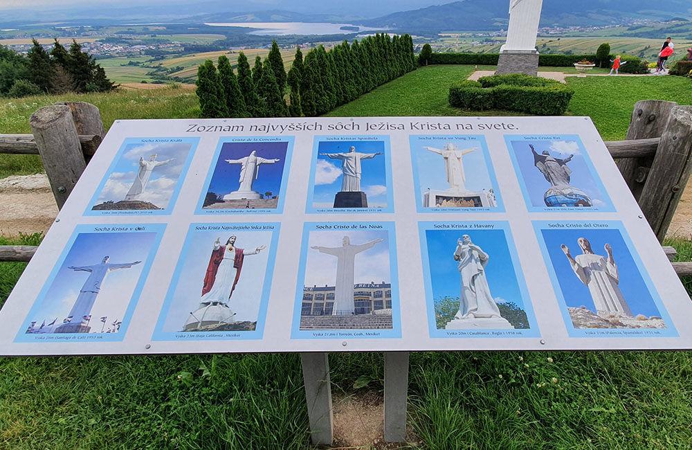 FOTO: Najvyššia socha Ježiša Krista na Slovensku stojí na Orave, foto 6