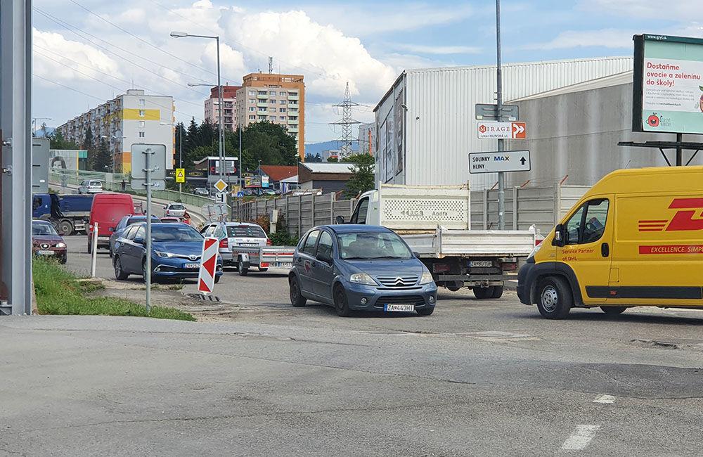 FOTO: Na Kamennej ceste prebieha rekonštrukcia vozovky, doprava je čiastočne obmedzená, foto 1
