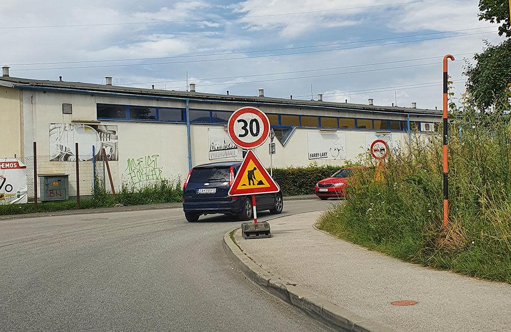 FOTO: Na Kamennej ceste prebieha rekonštrukcia vozovky, doprava je čiastočne obmedzená, foto 2