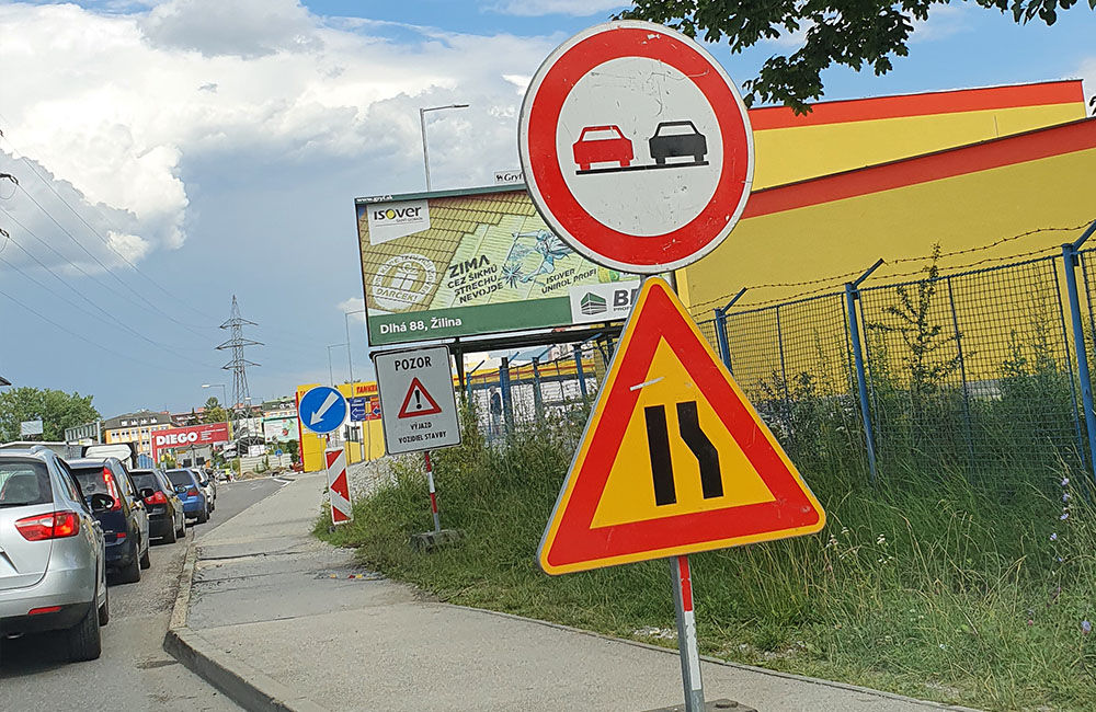 FOTO: Na Kamennej ceste prebieha rekonštrukcia vozovky, doprava je čiastočne obmedzená, foto 3