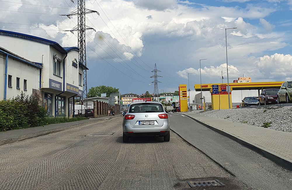 FOTO: Na Kamennej ceste prebieha rekonštrukcia vozovky, doprava je čiastočne obmedzená, foto 4