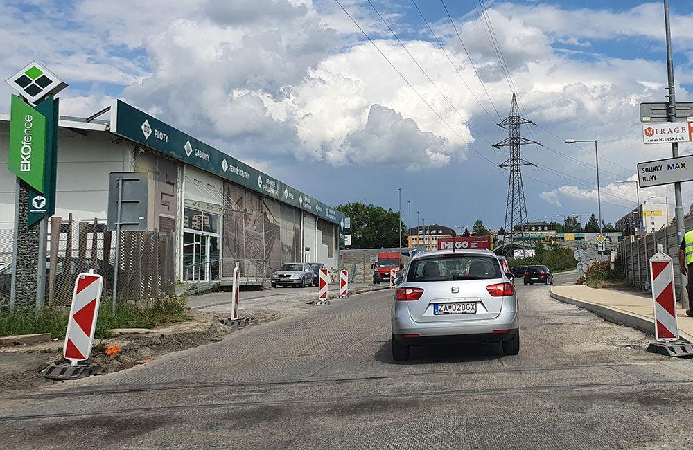 FOTO: Na Kamennej ceste prebieha rekonštrukcia vozovky, doprava je čiastočne obmedzená, foto 6