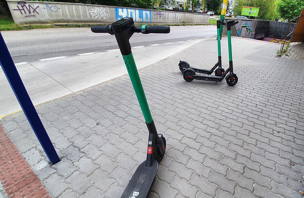 FOTO: V Žiline pribudlo 146 zdieľaných elektrokolobežiek, maximálnu rýchlosť obmedzili na 20 kmh, foto 10