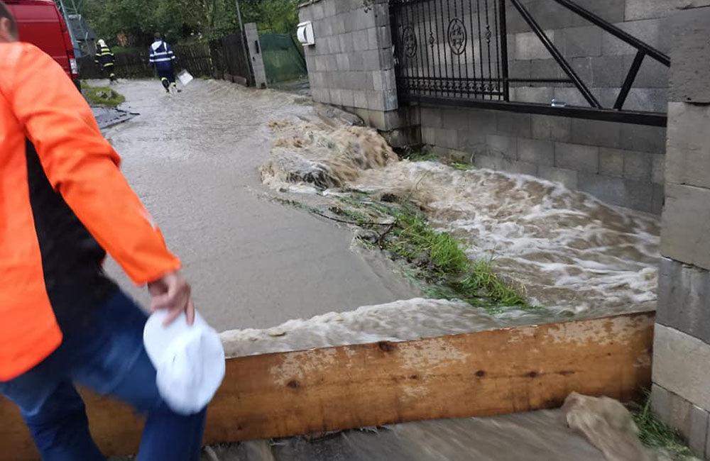 FOTO: Následky prívalových dažďov v piatok 24. júla odstraňovali v okresoch Žilina a Čadca, foto 6