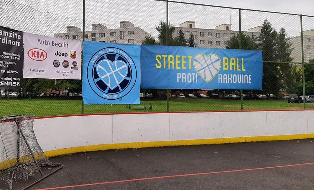 FOTO: Streetball proti rakovine 2020 v Žiline, foto 1