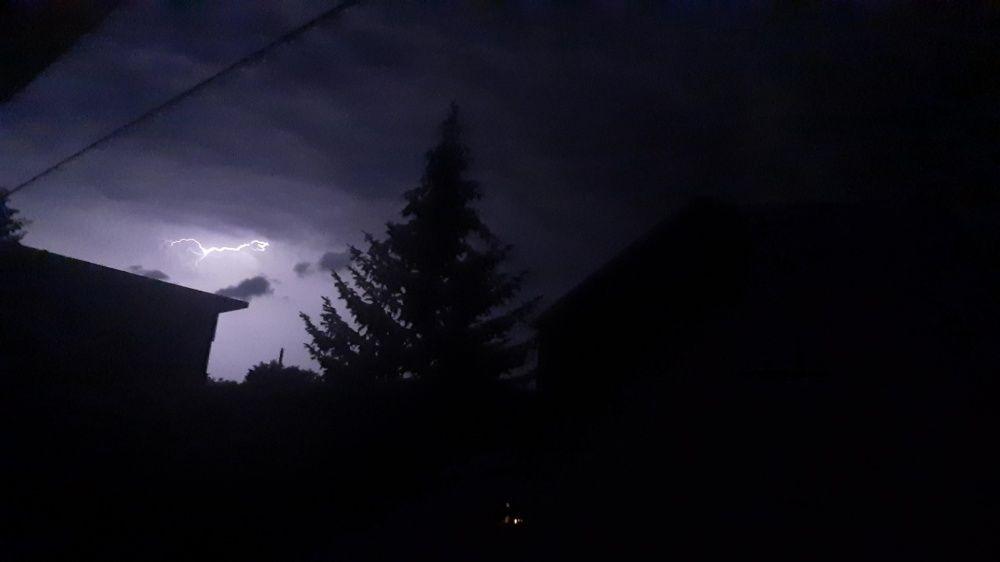 FOTO: Búrka, ktorá v utorok 28. júla zasiahla Žilinský kraj, na záberoch od čitateľov, foto 5