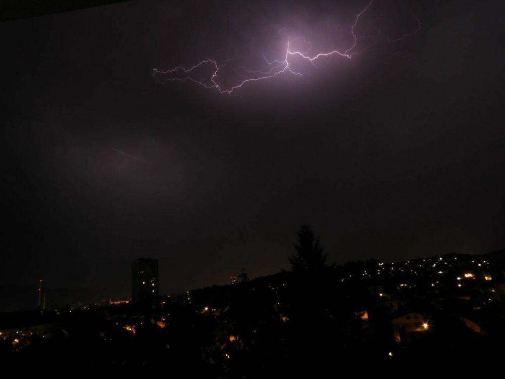 FOTO: Búrka, ktorá v utorok 28. júla zasiahla Žilinský kraj, na záberoch od čitateľov, foto 6